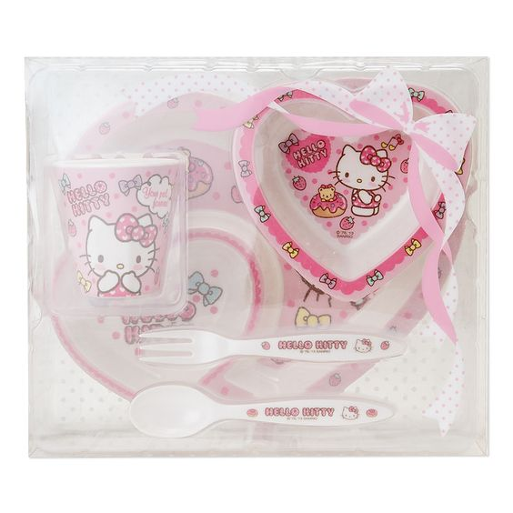 Hello Kitty crush dinnerware set Sanrio online shop - official mail order site