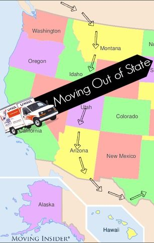 Us States And Moving Out On Pinterest