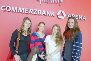 Auch in der Commerzbank Arena in Frankfurt fanden bereits erste Stadiontage statt.