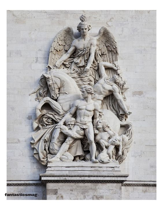 Monuments of Paris: The Arc de Triomphe is the world's largest triumphal arch. Conceived by Napoleon to commemorate victories of the French armies