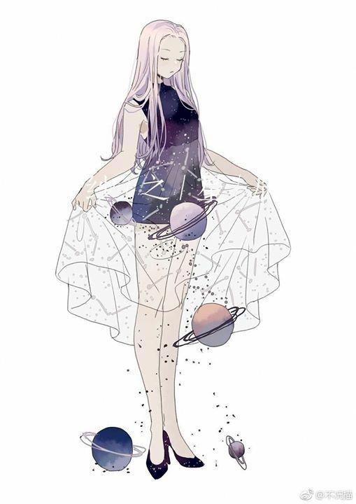 Spacey Gurllll Hehehe Inspiration Animegirl Character Art Cute Art Fantasy Art