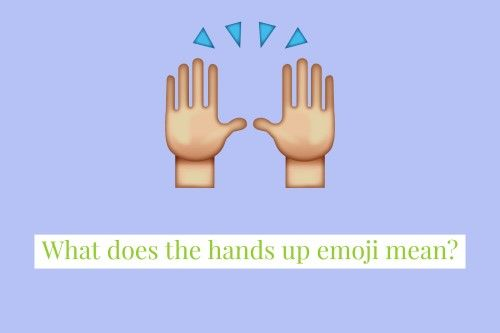 Hands Up Emoji Emoji Meant To Be Hands