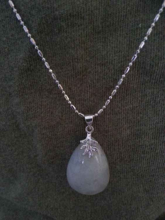 Moonstone Necklace by SilverPennyArtisans on Etsy, $42.50