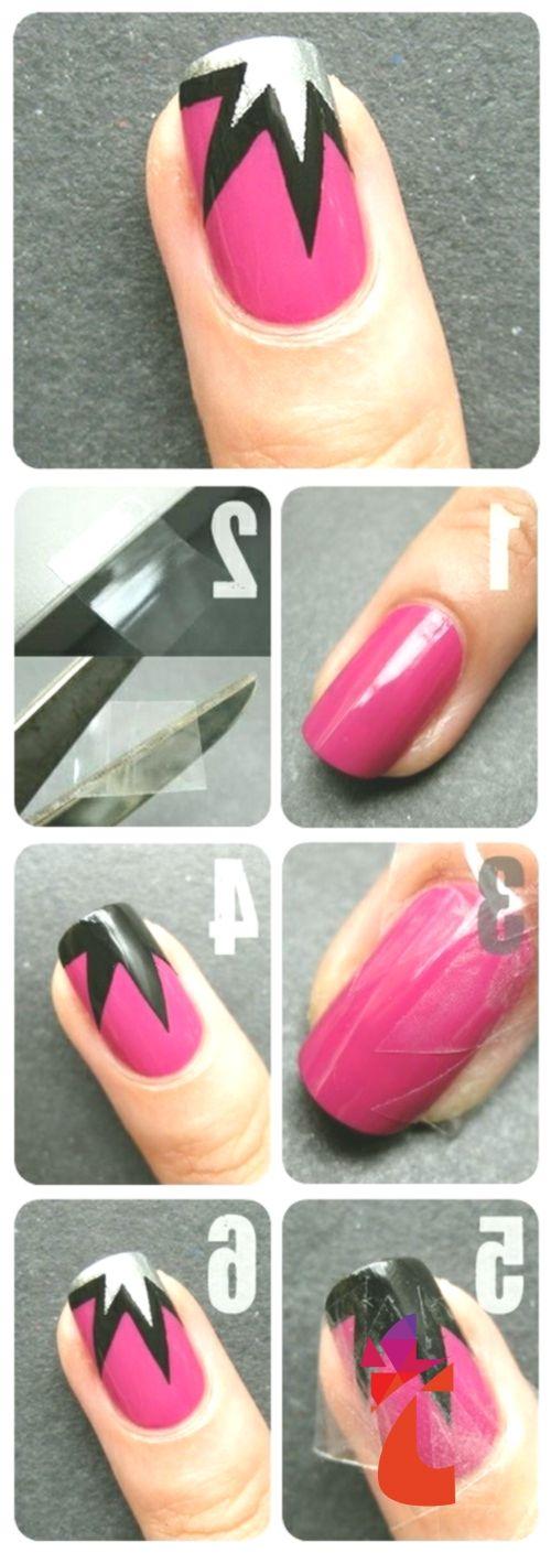 Easy Nail Art Designs For Beginners Step By Step Tutorials Beststylo Com Art Beginner Nail Art Designs Diy Simple Nail Art Designs Simple Nail Designs
