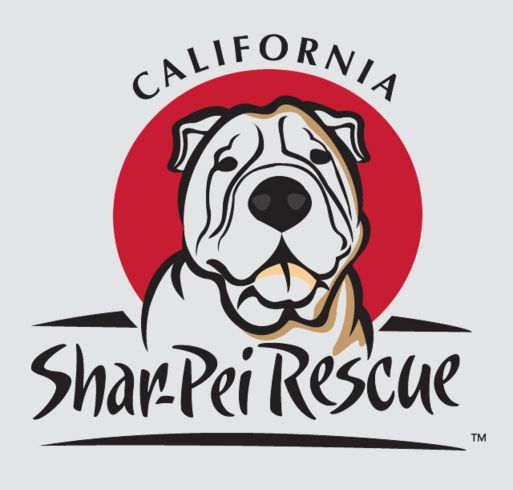Buy a t-shirt to support California Shar-Pei Rescue . Please share!