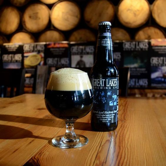 Great Lakes Barrel-Aged Blackout Stout returns again on January 26th, 2015.