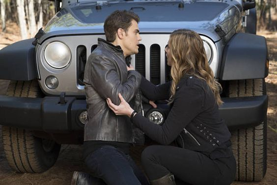 The Vampire Diaries: Stefan tenta se esconder de Rayna - http://popseries.com.br/2016/03/04/the-vampire-diaries-7-temporada-i-would-for-you/