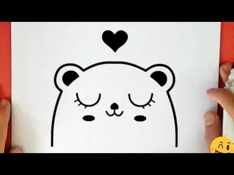 Pencil Drawing How To Draw A Teddy Bear Step By Step Easy Cool Drawings Cool Easy Doodle Youtube In 2021 Cool Drawings Simple Doodles Pencil Drawings