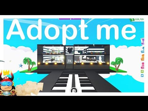 31 Modern House 1 House Design Glitch Build Tour With Madammadhouse Adopt Me Roblox Youtube Adoption Cute Room Ideas My Home Design