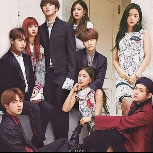 Bts Blackpink Idol Fire Forever Young As If It S Your Last