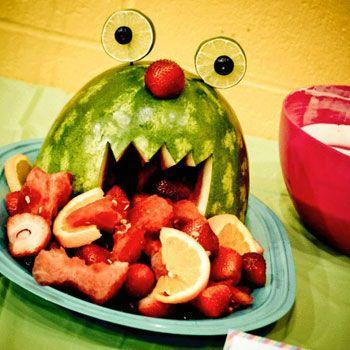 bug or monster watermelon fruit bowel