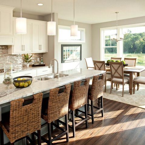 Best Sw Dover White Cabinets Sw Mindful Gray Wall Pendants Over 640 x 480