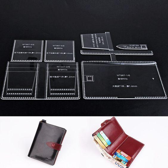 Wuta Men S Bifold Wallet Purse Card Cash Receipt Holder Leather Template 967 Bifold Wallet Men Bi Fold Wallet Wallet
