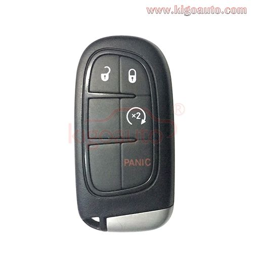 Gq4 54t Smart Key 4 Button 434mhz For 2015 Jeep Cherokee Smart Key Jeep Jeep Cherokee