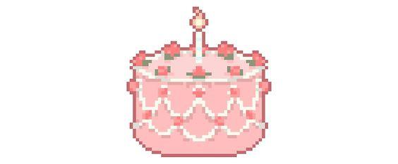 Pixel cake time!!