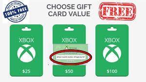 Free Xbox Codes Free Xbox Gift Card Codes Generator 2021 In 2021 Xbox Live Gift Card Xbox Gift Card Live Gifts