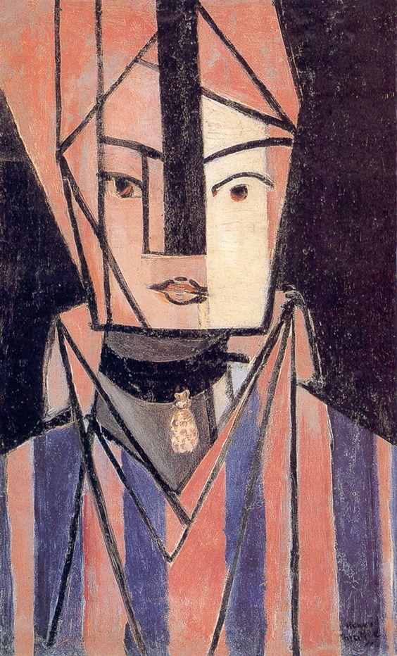 """Storia, analisi e descrizione del quadro """"Testa bianca e rosa"""" di Matisse…"""