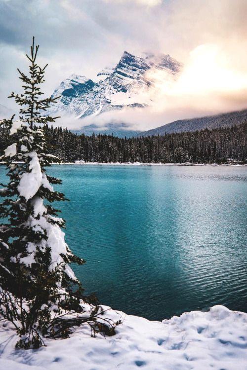 Lsleofskye Alberta Lucas Allen Paysage Magnifique Montagne Paysage De Neige Paysage Hiver