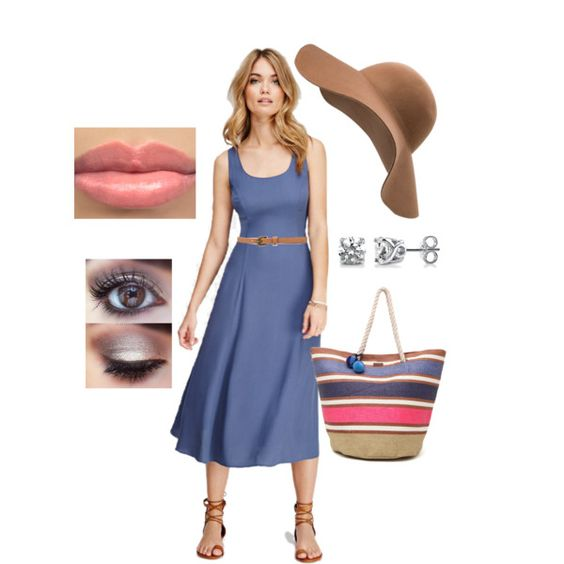 A fashion look from March 2015 featuring Love 21 dresses, Roxy tote bags and BERRICLE earrings. Browse and shop related looks.