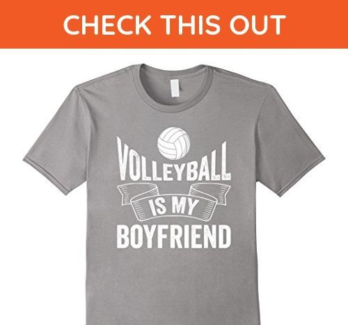 Mens Volleyball Is My Boyfriend Funny Volleyball Player Humor Tee 3xl Slate Sp Funny Volleyball S Funny Volleyball Shirts Volleyball Shirts Volleyball Humor