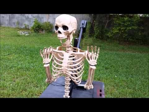 Budget Friendly Electric 2 Bar Lift for Halloween Props - YouTube
