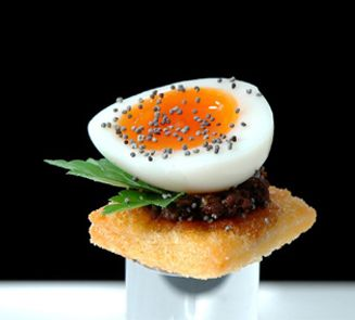 Canapes plating presentation plating molecular for Where can i buy canape cups