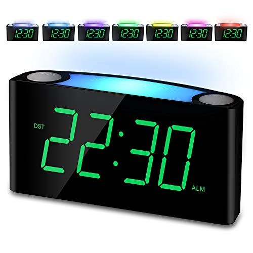 Horloge Digitale avec Veilleuses