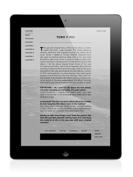 Letter to Jane Magazine: Moral Tales by Timothy Moore, via Behance #magazine #digital #design