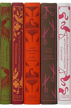 I want a bookshelf filled with classics and interesting bindings!