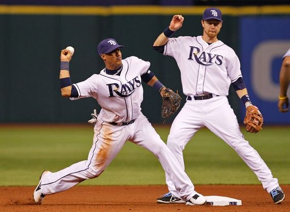 Rays playing strong defense at start of season..... Yunel Escobar & Ben Zobrist