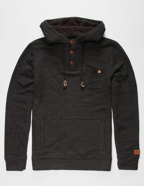 RVCA Magia Hoodie - charcoal - Men's Clothing > Hoodies & Sweaters ...