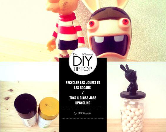 diy r cup et recyclage une d coration maison avec des jouets recycl s bricolage pots et. Black Bedroom Furniture Sets. Home Design Ideas