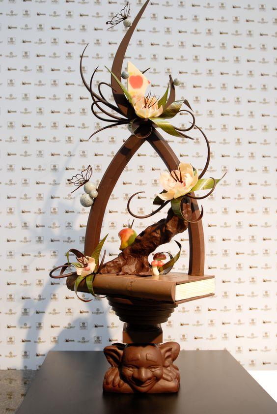 World Chocolate Masters Creation | Chocolate showpieces ...