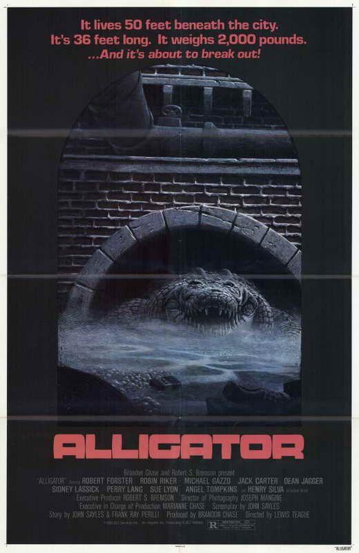 Alligator (1980) - Henry Silva DVD