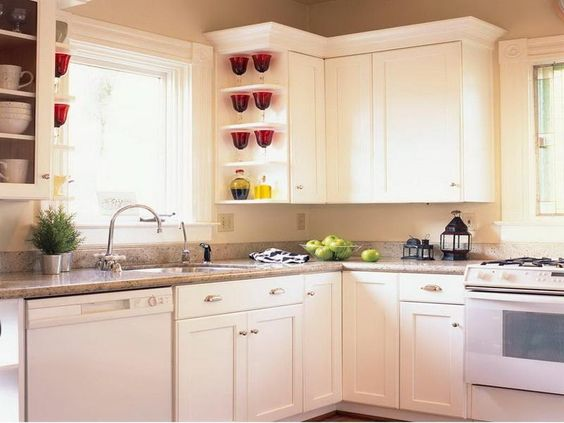 Modern Kitchen Cabinet Refacing....thin mdf over the existing ...