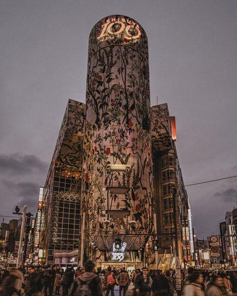 グッチのデジタルコラボ「#GucciGram」が渋谷109をジャック!