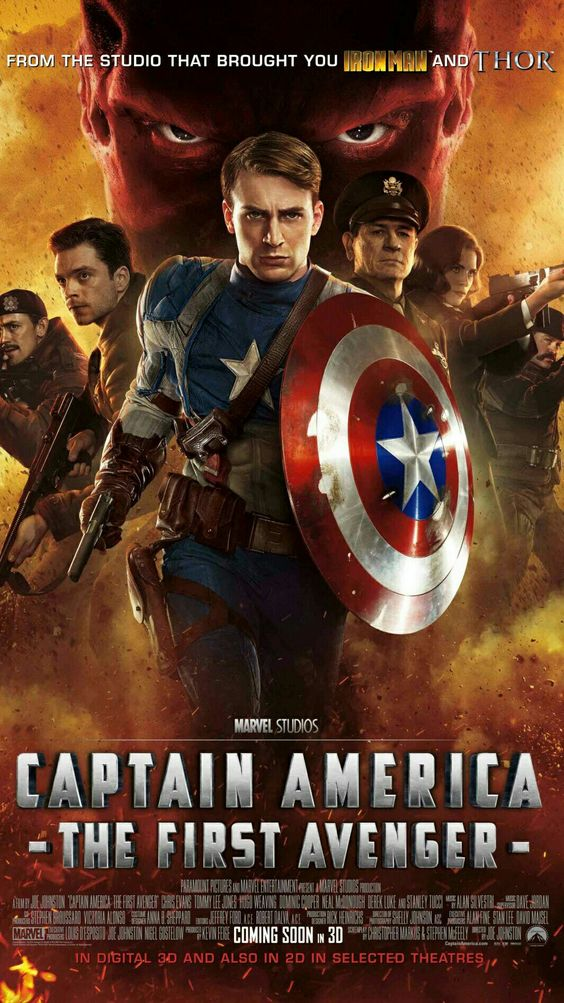 Captain américain the first avengers