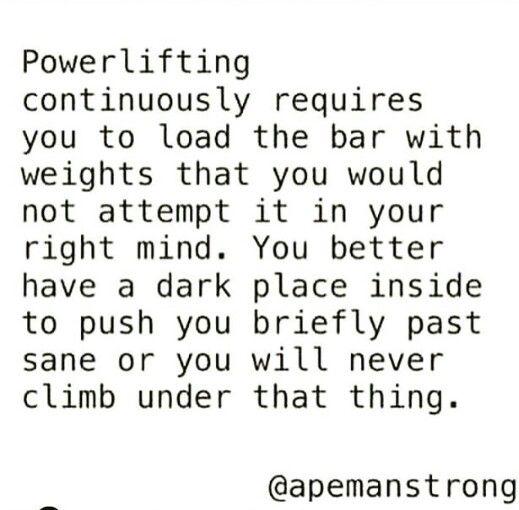 Powerlifters logic