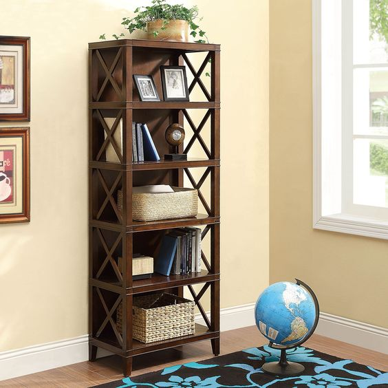 Providence - Open Shelf Bookcase - Chestnut - 24