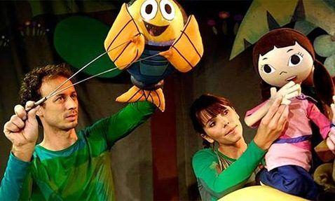 """O personagem Peixonauta - recente sucesso televisivo - também dá o ar da graça na peça """"Cante com o Peixonauta"""", em cartaz no Sesc Santo Amaro nos dias 12, 13 e 14 de outubro, às 16h, com ingressos até R$ 8."""