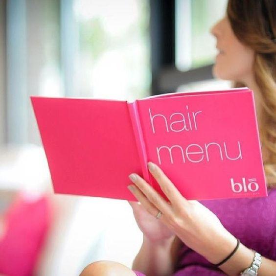 Pinterest the world s catalog of ideas for Blo hair salon