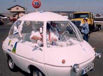 courreges electric car, 1969