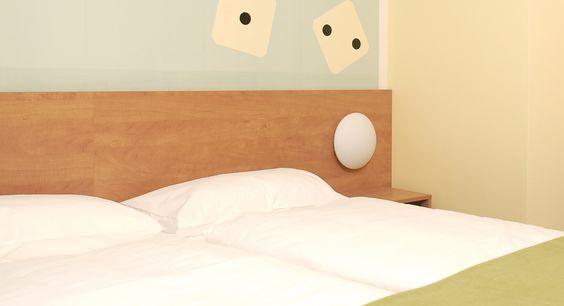 Zweibettzimmer im B&B #Hotel Erlangen