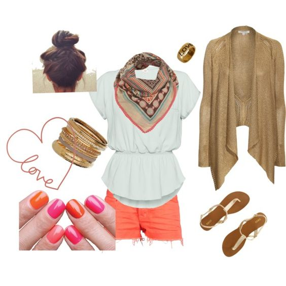 spring, created by daramorton on Polyvore