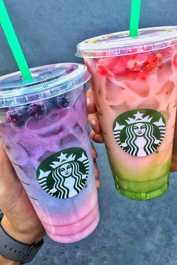 Yeni Starbucks Gizli Menü Uyarısı!  2 Tonlu Pembe Mor İçki Siparişi Nasıl Verilir