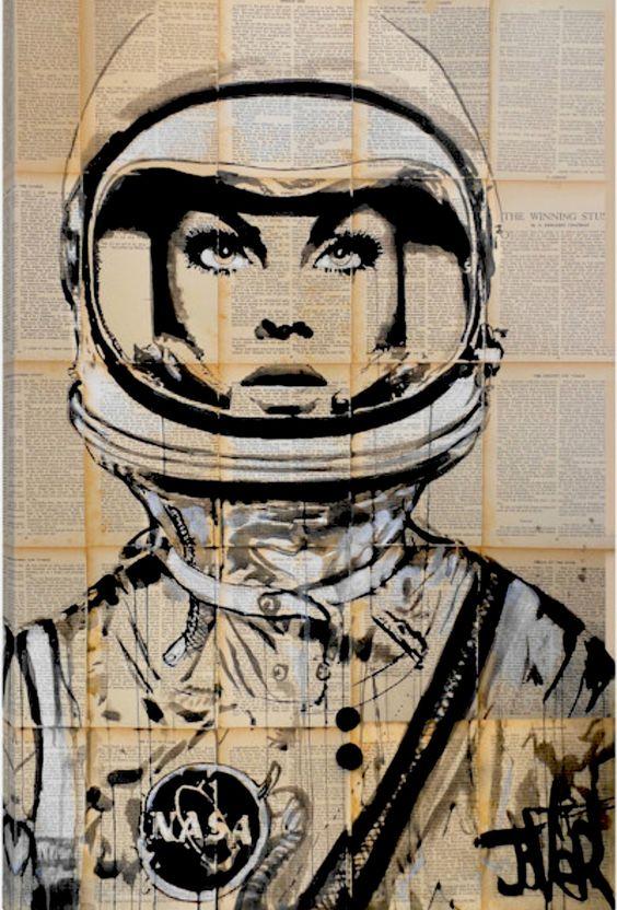 Space Ladies ~ Loui Jover