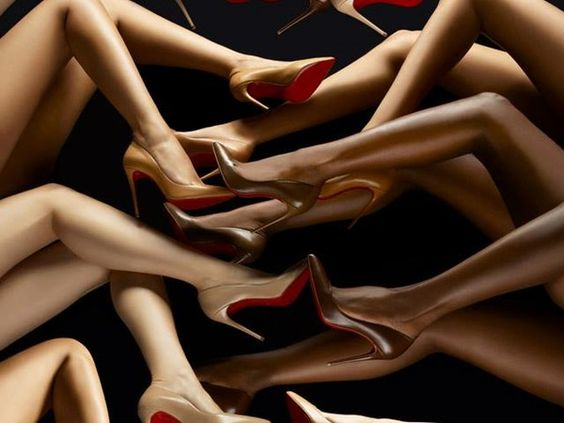 """First emojis, now pumps. It looks like the world is starting to acknowledge the fact that """"nude"""" colors aren't everyone's skin tone, even high-fashion brands. Yesterday, Christian Louboutin's new nude heel collection was unveiled at an event at Bergdorf Goodman, and it doesn't just feature the"""