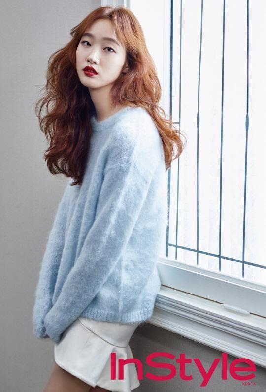 "Kim Go Eun de ""Cheese in the Trap"" para la revista ""InStyle"" - Soompi Spanish"