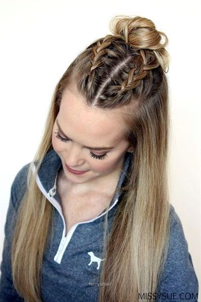 Cool 45 Quick And Easy Back To School Hairstyles For 2016 The Post 45 Quick And Easy Back To School Hairstyles Fo Thick Hair Styles Sporty Hairstyles Hairstyle