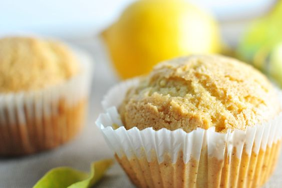 Gotta try these! Gluten-free lemon millet muffins (with blueberry and almond variations). @Kara West